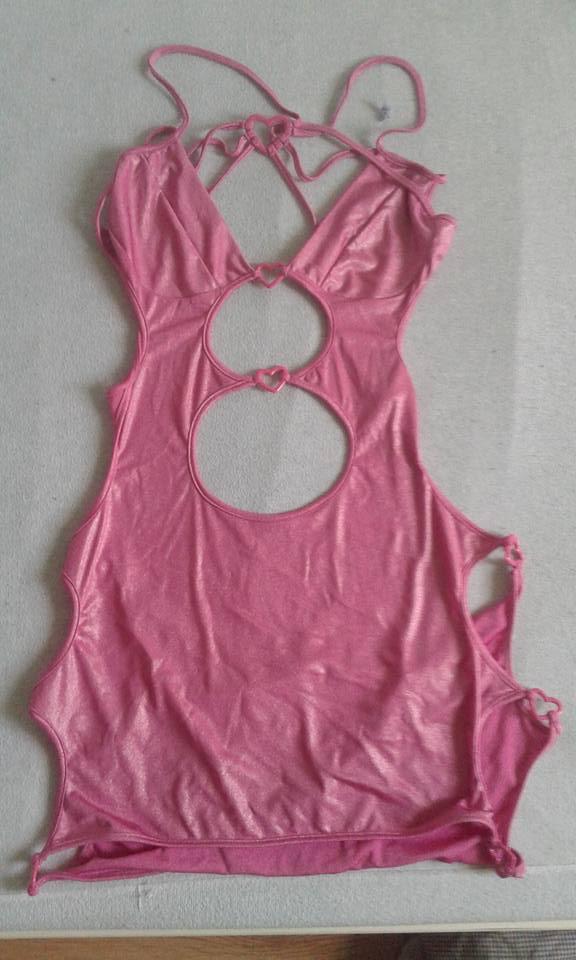 gedragen lingerie jurkjes