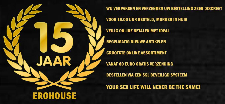Sexshop Erohouse, bestel sexspeeltjes, BDSM, en Sexy Lingerie Online! - Afbeelding1