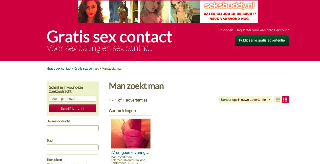 sex advertenties gratis gratis zex